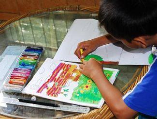 Manfaat Kursus Gambar Melukis Pada Anak Kang Martho