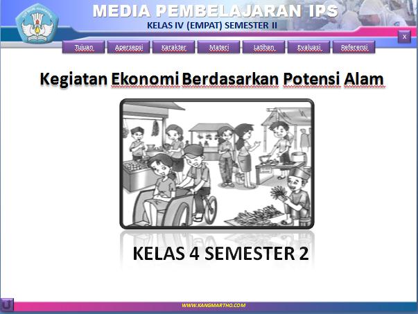 Media Pembelajaran IPS Kelas 4 (Kegiatan Ekonomi)